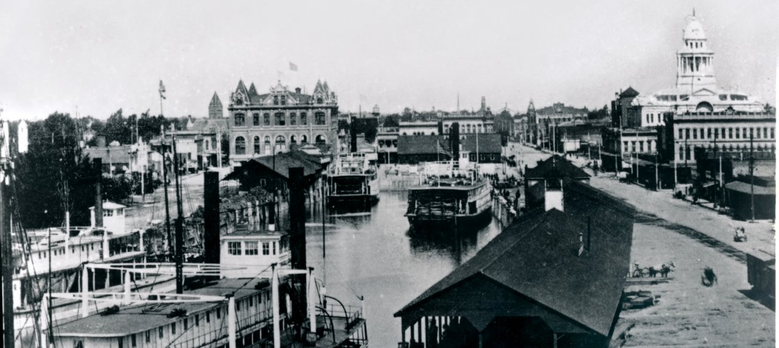 Stockton Channel, circa 1900