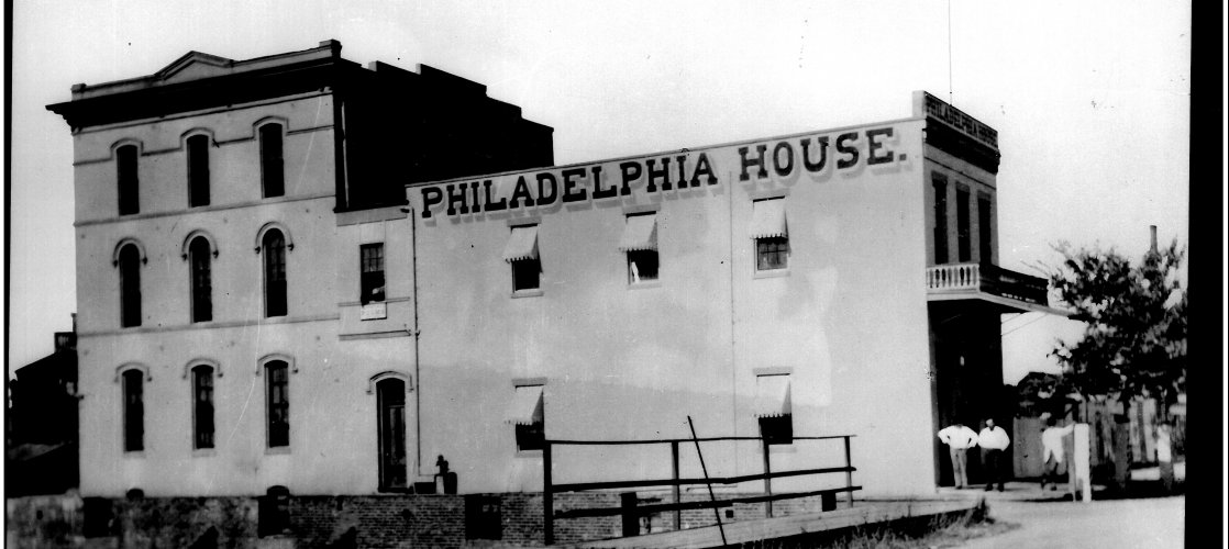 Philadelphia House, circa 1870s - now home to Visit Stockton