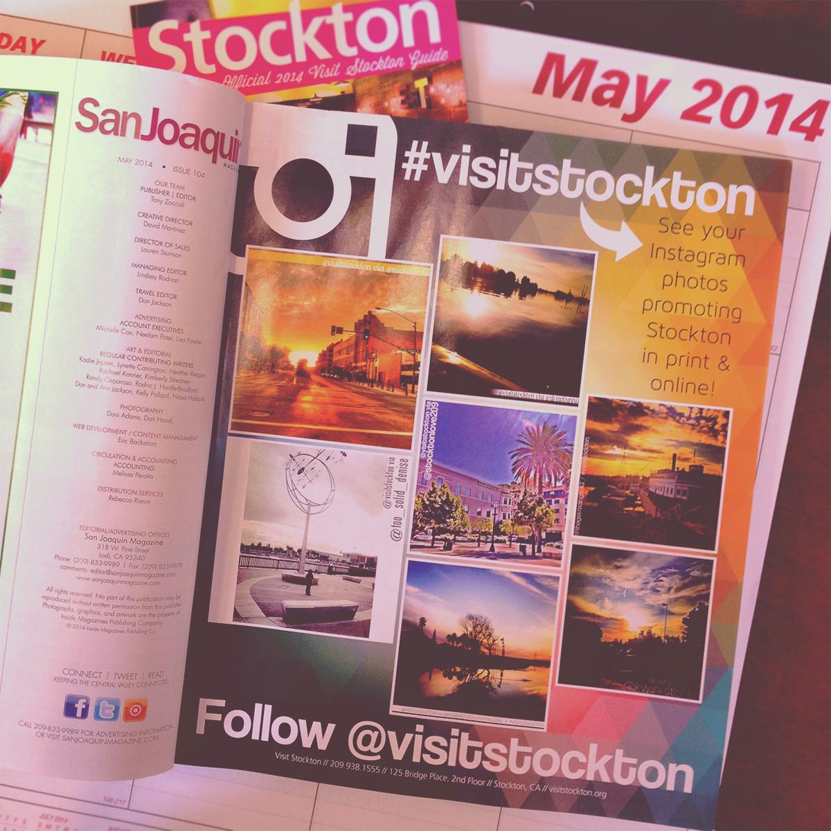 #visitstockton in San Joaquin Magazine